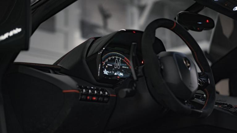 Used 2020 Lamborghini Aventador SVJ Roadst for sale Call for price at Platinum Chicago in Lake Bluff IL 60044 4