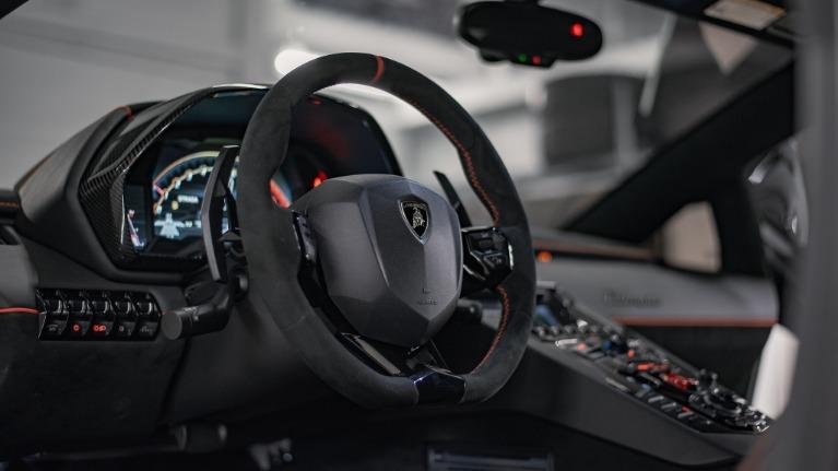 Used 2020 Lamborghini Aventador SVJ Roadst for sale Call for price at Platinum Chicago in Lake Bluff IL 60044 7