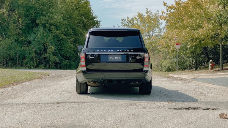 Used 2016 Land Rover Range Rover Autobiography for sale Sold at Platinum Chicago in Lake Bluff IL 60044 3