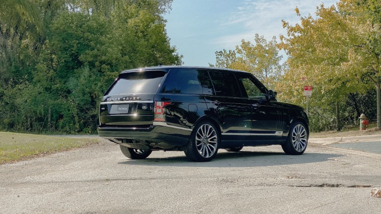 Used 2016 Land Rover Range Rover Autobiography for sale Sold at Platinum Chicago in Lake Bluff IL 60044 4