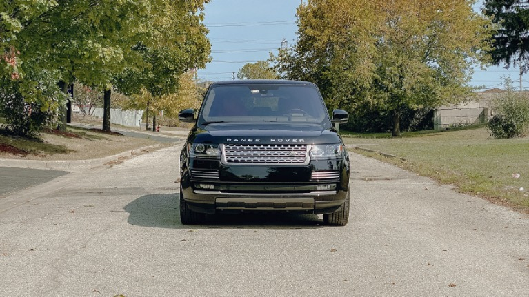 Used 2016 Land Rover Range Rover Autobiography for sale Sold at Platinum Chicago in Lake Bluff IL 60044 1