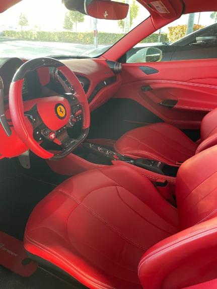 Used 2021 Ferrari F8 Spider for sale $599,995 at Platinum Chicago in Lake Bluff IL 60044 3