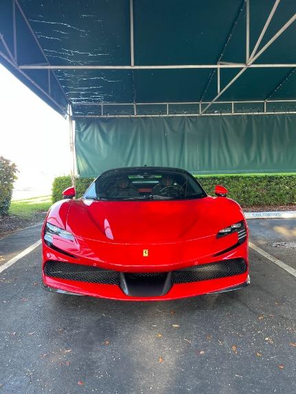 Used 2021 Ferrari SF90 Stradale for sale $999,995 at Platinum Chicago in Lake Bluff IL 60044 1